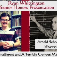 Senior Honors Presentation - Ryan Whittington