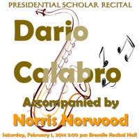 Dario Calabro, Saxophone