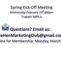 Blue Hen Marketing Club: Spring Kickoff Meeting