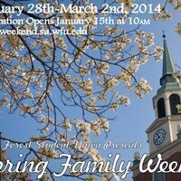 Family Weekend Registration