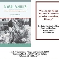History and APAM co-sponsored talk: Dr. Catherine Ceniza Choy