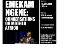 Emekam Ngene: Conversations on Mother Africa