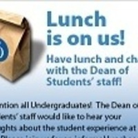 Lunch with the Dean of Students' Staff