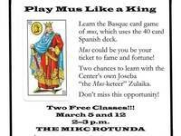 """Learn to play """"Mus"""""""