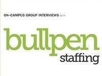 Bullpen Staffing On-Campus Interviews