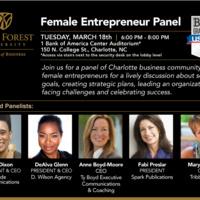 Female Entrepreneur Panel Event