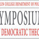 Symposium on Democratic Theory