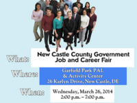 Career Fair with New Castle County Office of Human Resources
