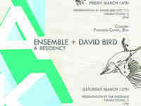 MMG Presents: TAK Ensemble + David Bird
