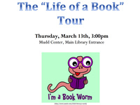 Student Friends of the Library Program - Life of a Book Tour