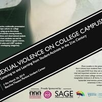Sexual Violence on College Campuses: Listening to and Learning from Student Activists in the 21st Century with Stephanie Gilmore