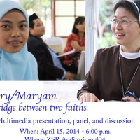 Mary/Maryam: A Bridge Between Two Faiths