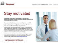 Vanguard Virtual Career Event