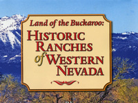 """Public lecture: """"Land of the Buckaroo: Historic Ranches of Western Nevada"""""""