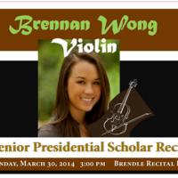 Brennan Wong, violin