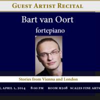 Bart von Oort, pianoforte