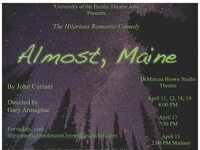 "Pacific Theatre Arts presents ""ALMOST, MAINE,"" A Romantic Comedy"