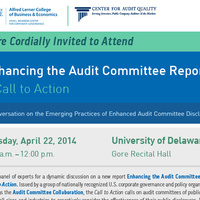 Enhancing the Audit Committee Report: A Call to Action
