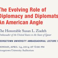 Georgetown University Ambassadorial Lecture Series