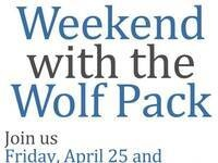 Weekend with the Wolf Pack All Day Events