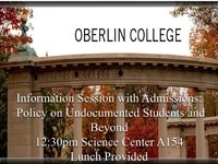 Information Session with Admissions: Policy on Undocumented Students and Beyond