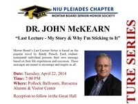 """Last Lecture - My Story & Why I'm Sticking to It"""
