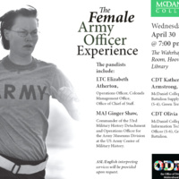 The Female Army Officer Experience