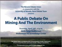 Nevada Debate Union Spring Public Debate
