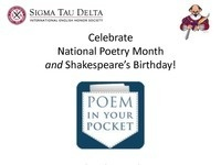 Poem in Your Pocket Extravaganza