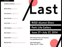 FIRST/LAST Opening Reception