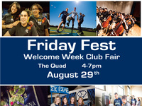 Friday Fest- Welcome Week Club Fair