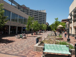 Pedestrian Mall, Downtown Iowa City