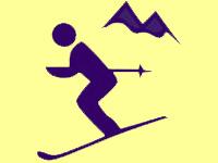 Skiing at Middlebury Carnival (away)