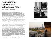 Reimagining open Space in the Inner City