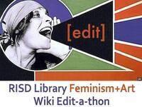 Providence Art+Feminism Wikipedia Edit-a-thon