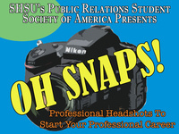 "PRSSA ""Oh Snaps!"" Headshots"