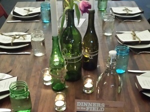 "3rd Annual ""Dinners in the Field"" with Field and Vine Events"