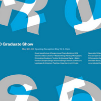 Graduate Thesis Exhibition 2015 opening