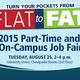 2015 Part-Time & On-Campus Job Fair
