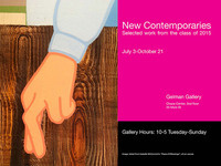 New Contemporaries: Selected works from the class of 2015
