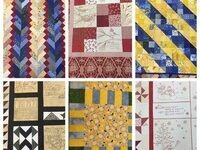 """Stories in Stitches:  A Collection of Quilts by Helen Belcher"""