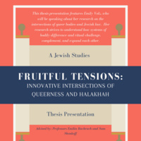 Fruitful Tensions: Innovative Intersections of Queerness and Halakhah