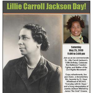 Lillie Carroll Jackson Day!