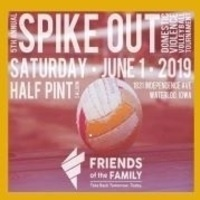 Spike Out Domestic Violence Volleyball Tournament presented by Friends of the Family