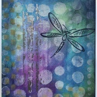 Stenciling & Embosssing Cards