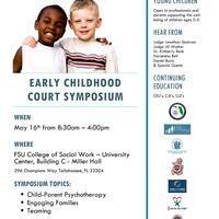 Early Childhood Court Symposium