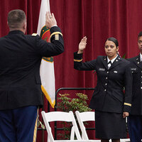 ROTC Commissioning ceremony