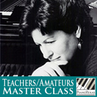 PianoTexas Teachers/Amateurs Master Class: Yoheved Kaplinsky