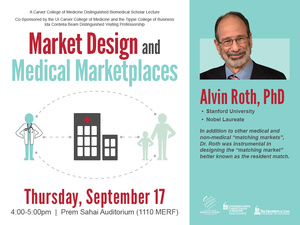 Distinguished Biomedical Scholar Lecture - Alvin Roth, PhD
