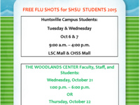 Free Flu Shots for Students